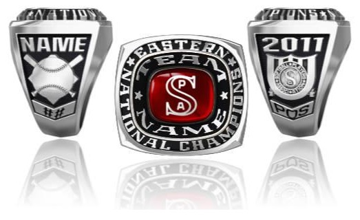 Softball Players Association Eastern National Ring