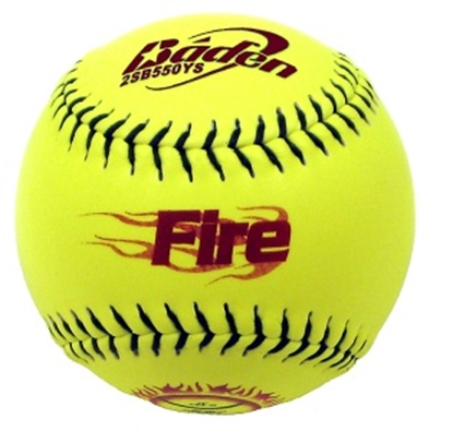 "Picture of Softballs - Baden 11"" Baden ""Fire"" Softball (1SPA311Y)"