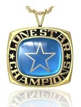 Picture of Lone Star NIT Pendant w/Encrusted Star