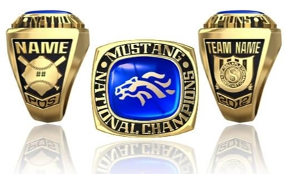 Picture of Mustang NIT Ring or Pendant w/Encrusted Mustang Head