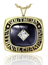 Picture of Southern NIT Pendant w/25 pt Cubic Zirconia Tubeset
