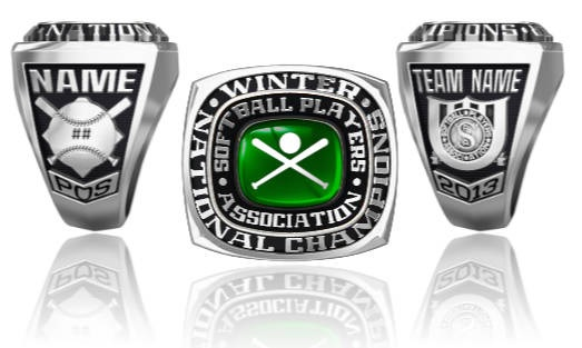 Softball Players Association Winter Nationals Ring Or