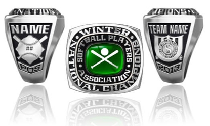 Picture of Winter Nationals Ring or Pendant w/Stadium Top and Crossed Bats and Ball