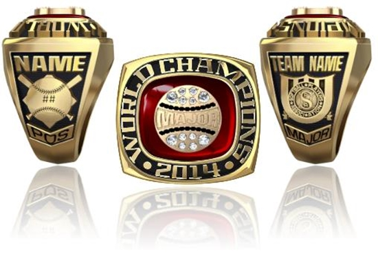 Picture of World Champion Ring or Pendant w/ Major Crest