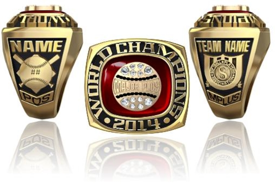 Picture of World Champion Ring or Pendant w/ Major Plus Crest