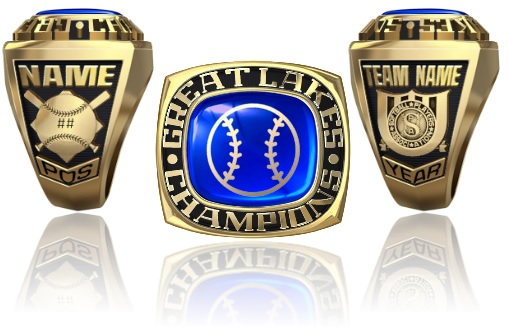 Softball Players Association Great Lakes Nit Ring Or