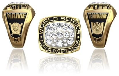 Picture of Women's World Series Champion Ring or Pendant w/Cubic Zircs