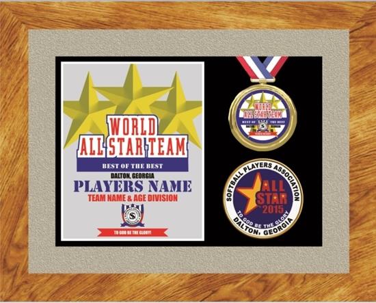 Picture of All-Star Custom Frame Award
