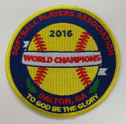 Picture of 2016 World Champion SPA Patch