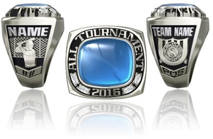 Picture of Men's All Tournament Ring/Pendant - Plain Stone