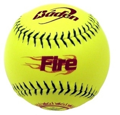 "Picture of Baden ""Fire"" ( 1SPA312Y-02) Softballs"