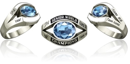 Picture of Women's Senior World Champion Ring SMS1 Style 751