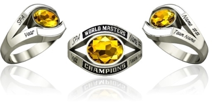 Picture of Women's Master's World Champion Ring SMS1 Style 750