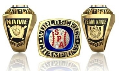 Picture of World Series Champion Ring/Pendant w/SPA Ball Crest